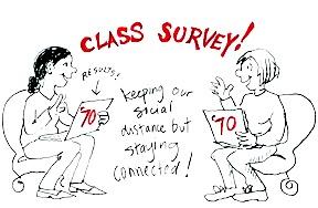 Class survey cartoon-March